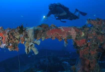 San Francisco Maru - Truk © Truk Lagoon Dive Center