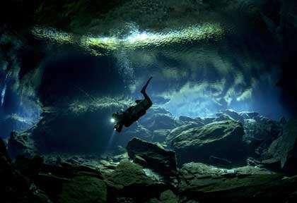 Cenotes au Mexique
