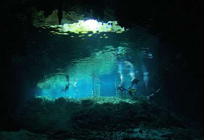 Cenotes mexicaines