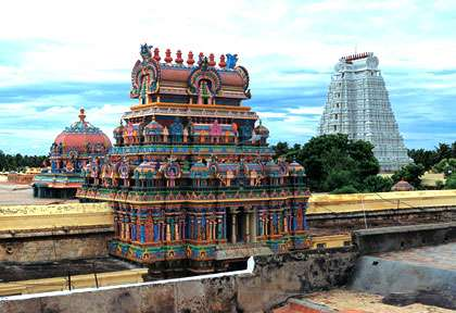 Inde - Tamil Nadu - Madurai - Temple Meenashki © Incredible India